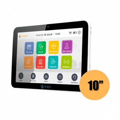 Tablet EXO Wi101 +Simple